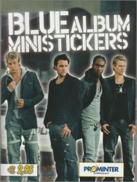 Blue - Ministickers & Photocards - Prominter - Italie - 2004