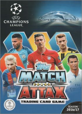 UEFA Champions League 2016/17 - Trading Cards - Topps