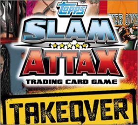 WWE - Slam Attax NXT - Takeover -  Trading Card Game - Topps