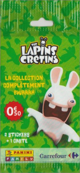 the lapins cr tins sticker album carrefour panini 2017 animations. Black Bedroom Furniture Sets. Home Design Ideas