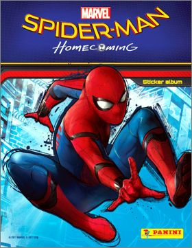 Spider-Man Homecoming - Sticker Album - Panini - 2017