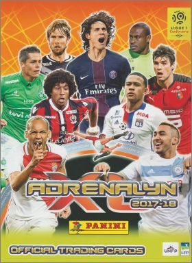 Adrenalyn XL - Trading Card Games - 2017 - 2018 - France