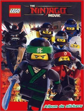 Blue Ocean lego Ninjago-Movie-cromos 86