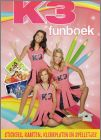 K3 funboek - 60 Stickers Kaarten - Studio 100 - Emte Pay-Bas