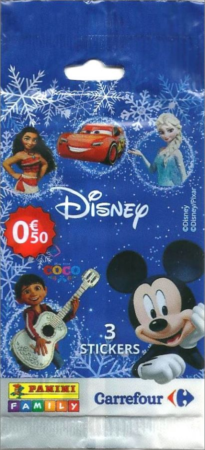 Carte Carrefour Disney Panini.Disney Sticker Collection Carrefour Panini Family 2017