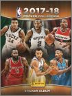 NBA Basketball 2017-18 - Sticker Collection Album Panini EU