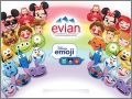 Disney Emoji - 30 stickers - Evian - 2017
