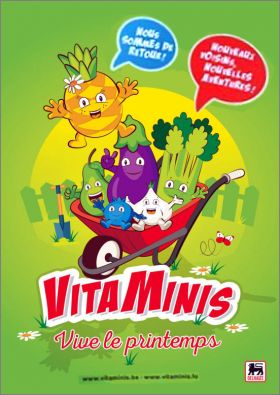 Vitaminis Vive le printemps - 100 stickers - Delhaize - 2018