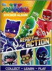PJ MASKS - Ready For Action - Sticker Album - Topps 2018 UK