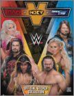WW Raw vs Nxt vs Smack Down Live - Stickers UK Topps - 2018