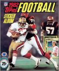 1982 Topps Football NFL - Sticker Album
