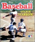 Baseball Sticker Yearbook 1984 Edition - Topps - USA/Canada