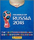 FIFA World Cup Russia 2018  Sticker Panini 1/2 (dos noir)