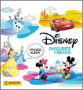 Disney Favourite Friends - Sticker Album - Panini - 2018