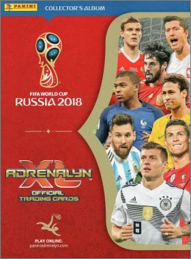 FIFA World Cup Russia 2018 - Adrenalyn XL Panini - part 2