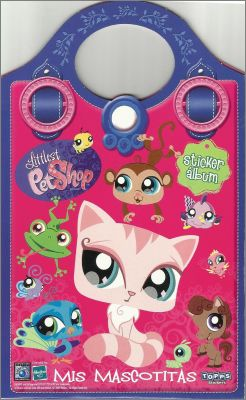 Littlest Pet Shop Pocket Mis Mascotitas Sticker Album Topps