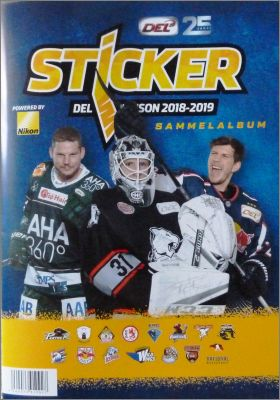 DEL Sticker Album 2018-2019 - Allemagne