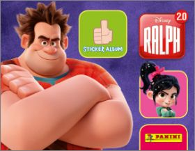 Ralph 2.0 - Disney - Sticker Album - Panini - 2018
