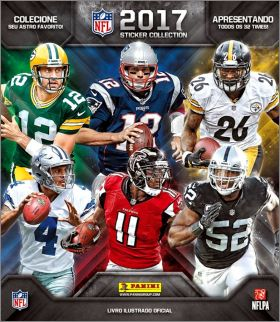 NFL 2017 -Sticker Collection - Panini - USA / Canada