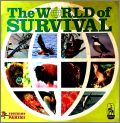 The World of Survival - Sticker Album Figurine Panini  1985