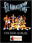 Gladiators - Sticker Album - Merlin - 1992 - Angleterre