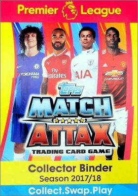 Match Attax Premier League 2017-18 - Trading Cards - Topps
