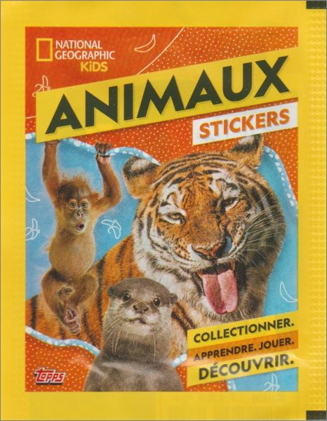 Sticker 22-TOPPS-National Geographic-Animaux sauvages
