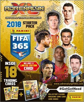 Panini FIFA 365 Adrenalyn - Cartes éditions limitées - 2018