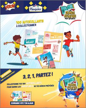 La Grande Aventure des Sports - Stickers Pitch Pasquier 2019