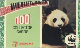 Wildlife in Danger WWF - 100 Collector Cards  Panini 1992
