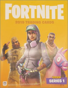 Fortnite : Epic games séries 1 Trading (part 2) Panini 2019