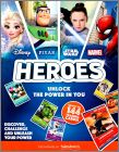 Heroes Disney Pixar Stars Wars Marvel Cards Sainsbury's 2019