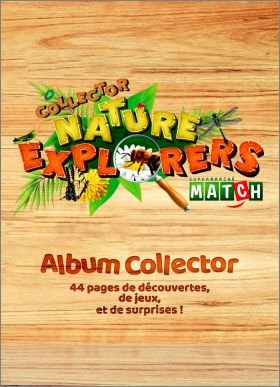 Collector Nature Explorers - Album de Sticker Match - 2019
