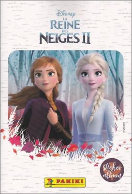 La Reine des Neiges II - Disney - Sticker Album Panini 2019