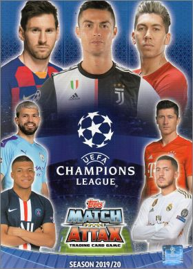 Match Attax UEFA Champions League (part 2) Topps 2019 / 2020
