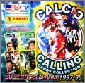Calcio Calling - Cards Collection 1997 - 98 - Panini Italie