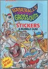 Baseball's Greatest Grossouts Stickers Bubble Gum Leaf 1989