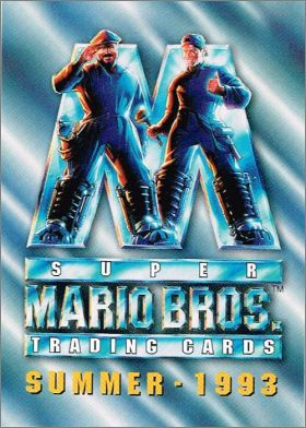 Super Mario Bros - Trading Cards Skybox - Summer - 1993