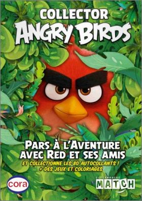 Collector Angry Birds Autocollants - Cartes Cora Match 2020