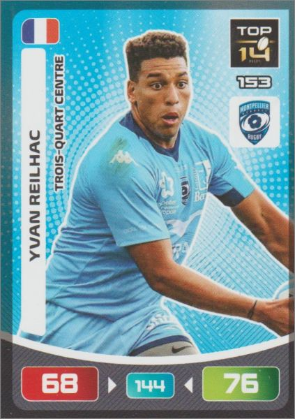 adrenalyn xl  rugby  trading card  2020  2021  france