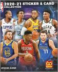 2020-21 NBA Sticker & Card Collection - European Edition 1/2