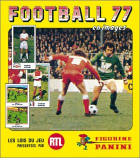 Football 77 - France - Figurine Panini