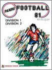 Football 81 - France - Division 1 et 2 - Figurine Panini