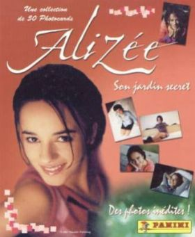 Alizée - Son Jardin Secret (Photocards)