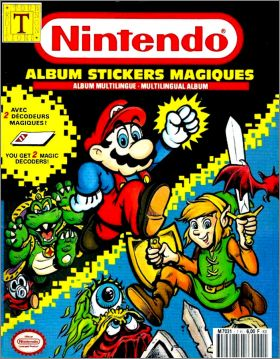 Nintendo -  Album Stickers Magiques - Broca 1991 (1992)