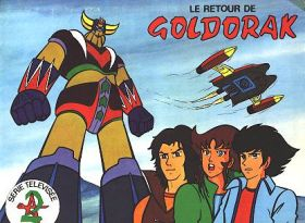 Le Retour de Goldorak - Sticker Album - AGE - France - 1982