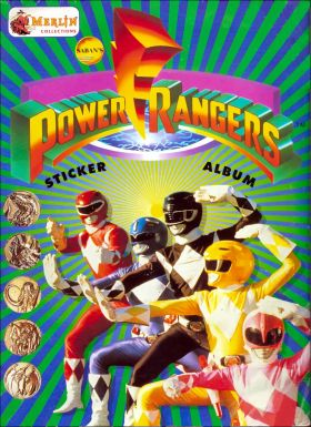 Power Rangers - Sticker Album - Merlin - 1994