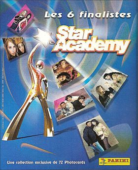 Star Academy  2  - Version 2 - Les 6 Finalistes (Photocards)
