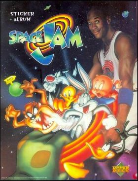 Space Jam - Sticker Album - Upperdeck - 1997