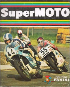 Super Moto - Sticker Album - Figurine Panini - 1975